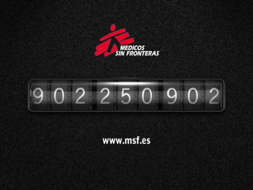 Medicos sin Fronteras – TV spots