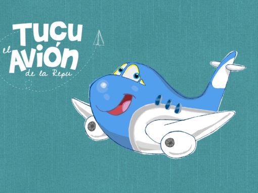 TUCU, El avión de la República de los Niños